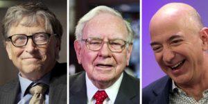 Jeff Bezos, Bill Gates And Warren Buffett Still Top The World's Ultra Rich