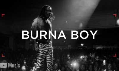 Burna Boy: An Embodiment Of Music, Trailing The Path Of Legends