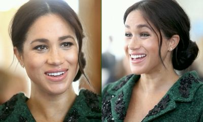 Pregnant Meghan Markle Glows In Green As She Kicks Off Commonwealth Day In Tribute To 'Second Home' Canada