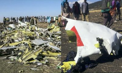 Just In: Black Box Of Crashed Ethiopian Airlines Recovered