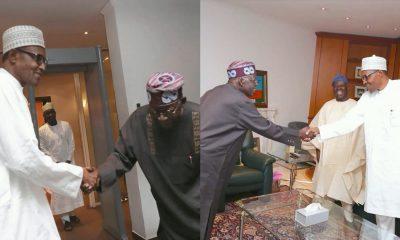 President Buhari Receives APC Chieftains Tinubu, Bisi Akande At Aso Rock