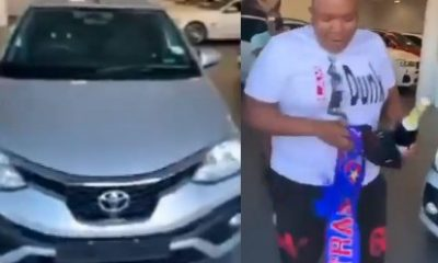 ViralVideo: Check Out Why These South African Men Bought Their Friend A Car