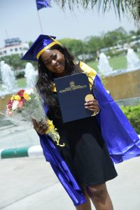 Nigerian Lady Chideraa Njoku Graduates From Indian University With First Class