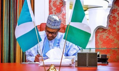 President Buhari Signs Minimum Wage Bill Into Law