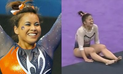 Gymnast Samantha Cerio Retires After Sustaining Injuries That Broke Legs (Video)