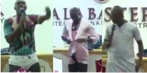 Video: Ghanaian Prophet Preaches In Underwear In Front Of Congregation