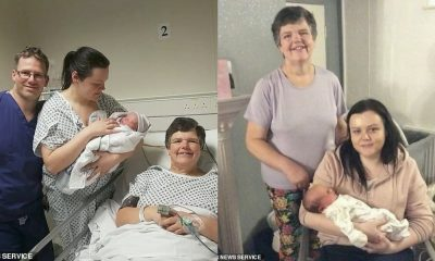 55 Year-Old Grandma Gives Birth To Her Own Grandchild For Daughter Without Womb (photos)