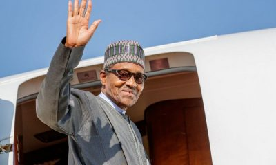 President Buhari Jets To UK On 10-day Private Visit