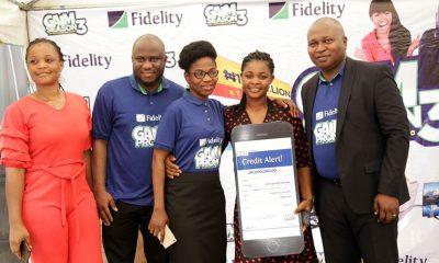 Photos From Fidelity Bank's GAIM Season 3 5th Monthly Prize Presentation Ceremony
