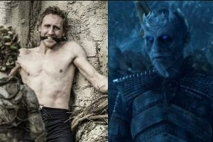 Children of the forest turn a mortal man into the first night walker, played by Richard Brake the first Night King
