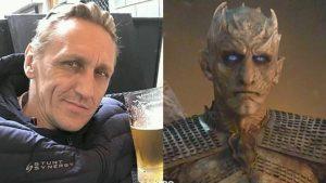 Unmasked: Game Of Thrones' Night King has been unmasked as hunky Slovakian stuntman-turned-actor Vladimir Furdik