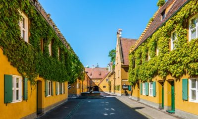 Fuggerei – The German Housing Complex Where Rent Hasn't Gone Up in 500 Years