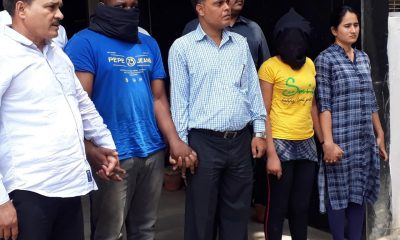 Photos: Two Nigerians, One South African Arrested In India's Biggest Narcotics Seizure