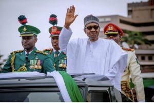 Photo Speak: President Buhari Sworn In For Second Term