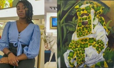 Nigerian Lady Becomes First African To Have Her Work On The Wall Of Cyprus Museum