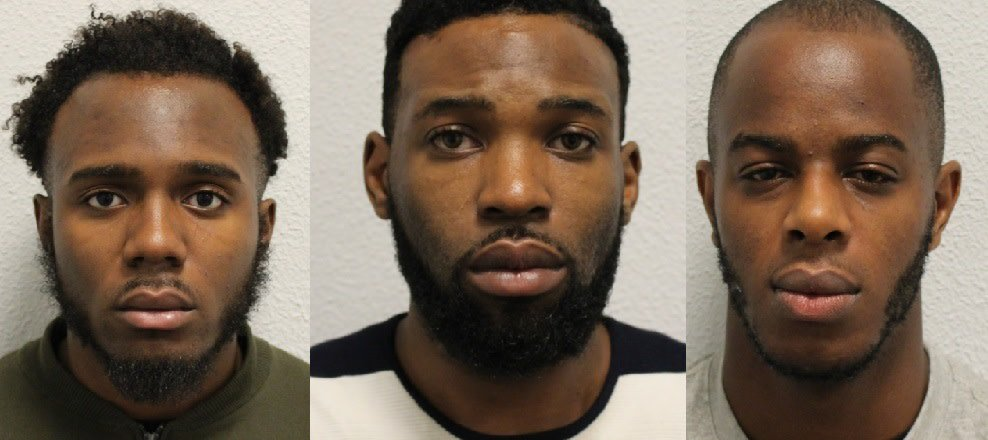 Three Nigerians Jailed For Transporting Firearms, Drugs In UK