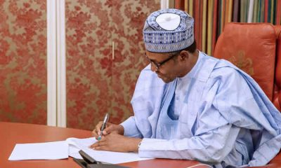 Buhari signs N8.91trn 2019 Budget Into Law