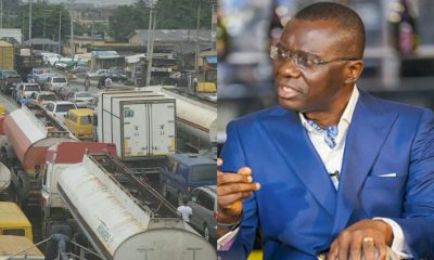 Sanwo-Olu Vows To Get Rid Of Apapa Gridlock With First 60 Days In Office