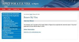 U.S. Embassy Suspends 'Dropbox' Visa Renewals In Nigeria