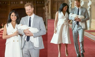 Prince Harry And Meghan Markle Show Off 'Baby Sussex' To The World