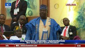 Senator Ahmed Lawan Emerges President Of The Senate