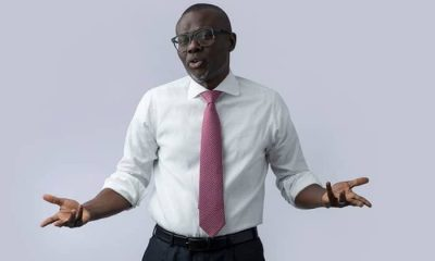 I have Lost Weight Nince Assuming Office A Week Ago- Lagos Governor, Sanwo-Olu
