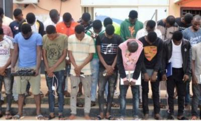 Photo: Ghana Deports 17 Nigerian Yahoo Boys