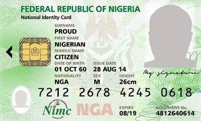 FG Pledges Lifelong Unique ID For All Nigerians