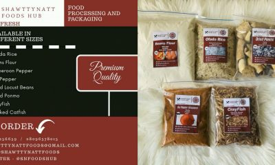 Shawttynatt Foods Unveils Neatly Packaged FoodStuffs , For Healthier, Easier Cooking