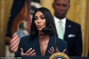 Kim Kardashian Stands Alongside Donald Trump She Announces Further Criminal Justice Reforms