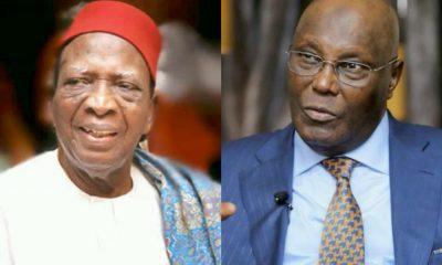 Presidential Tribunal: 87-year-old Prof. Nwabueze To Lead Atiku's Legal Team Against Buhari