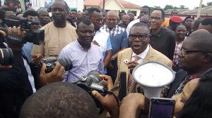 RUGA: Charly Boy, Eedris Abdulkareem, Baba Fryo, Others Storm RCCG Camp, Insist Adeboye Must Take A Stand
