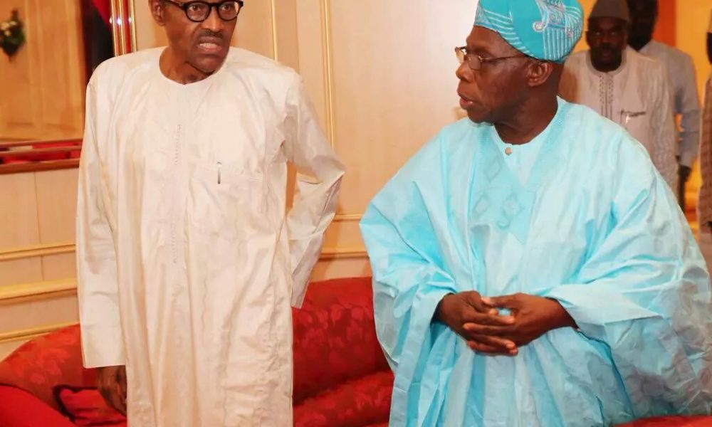 """""""A Very Onerous Cloud Is Gathering""""- Obasanjo Warns In New Open Letter To Buhari"""