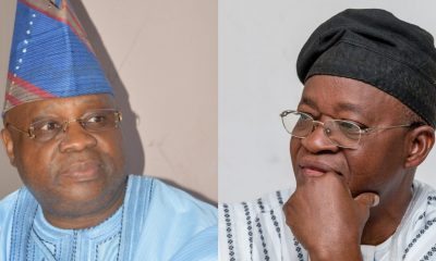 Osun: Oyetola Rules Against Adeleke's Suit, Affirms Oyetola As Governor