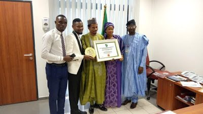 Photos: Embattled Senator Abbo Receives Award Of Excellence (photos)
