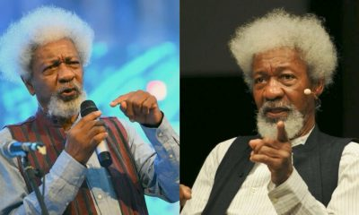 'Stop Writing Rubbish On The Internet'- Prof Wole Soyinka To Nigerian Youths