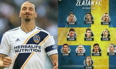 Cocky Zlatan Ibrahimovic Reveals Favourite XI Of All Time, With ONLY 1 Player In It