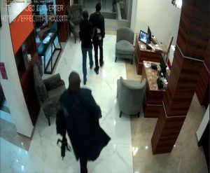 VIDEO:  CCTV Footage From Sowore's Arrest By DSS Operatives