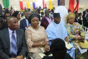 Sanwo-Olu Warns against Corruption As He Swears In Cabinet Members
