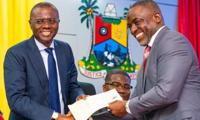 Sanwo-Olu Warns against Corruption As He Swears In Cabinet Members