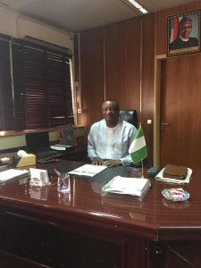 Keyamo Shares First Picture In Office As Minister