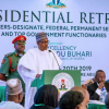 President Buhari Tells Ministers To Reach Him Through Chief of Staff Abba Kyari