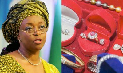 EFCC Seeks Permanent Forfeiture Of Diezani's $40 Million Jewellery