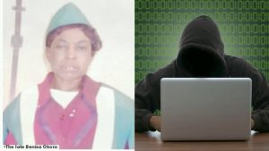 Yahoo Boy Hacks Hunched Aunt To Death For Money Rituals