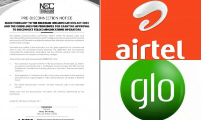 NCC To Bars Glo Users From Calling Airtel Numbers