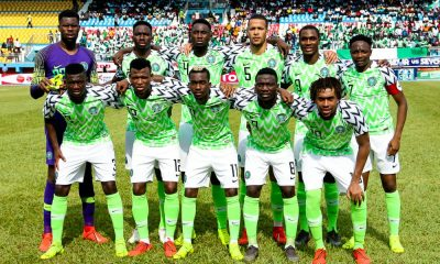 Nigeria Drops By One Spot In Latest FIFA Ranking
