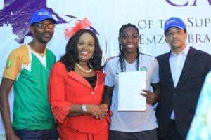 Emzor Celebrates Asisat Oshoala On New Appointment As Captain Of Super Falcons