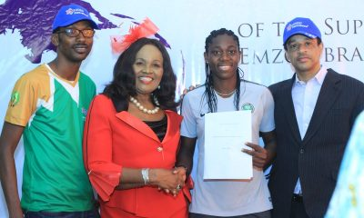 Emzor Celebrates Asisat Oshoala On New Appointment As Captain Of Super Falcons