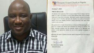 SexForGrades: Foursquare Church Sacks Randy Lecturer Boniface Igbeneghu