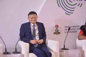 Jack Ma at the Nigeria Economy Digital Summit
